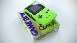Nintendo Game Boy Color Unboxing Youtube Gameboy Color