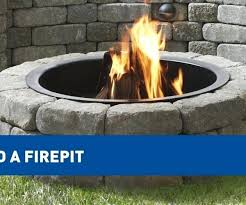 Lowes Firepits Lowes Portable Pit Portable Propane Fireplace Portable