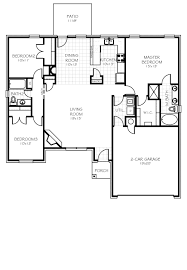 Home Floorplan The Providence Oklahoma New Home From Home Creations