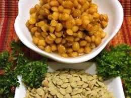 lentil history where do lentils originate