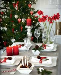 dining room table setting for christmas small living spaces ideas modern table setting for christmas ideas