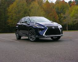 lexus rx truck 2016 lexus rx350 review reinvented for a new breed of buyer