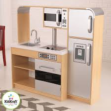 kidkraft modern espresso kitchen amazon com kidkraft ultimate chef u0027s kitchen toys u0026 games