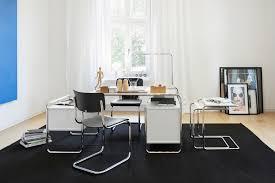 Schreibtisch Dunkelbraun Programm S 285 Thonet Möbel Stühle Tische Sessel Und Sofas
