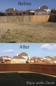 style with cents staining your worn out fence for dirt cheap u2026