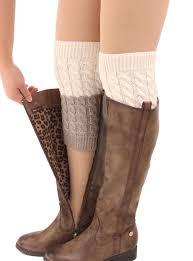 s knit boots canada wholesale winter leg warmers for fashion gaiters boot cuffs