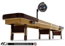 12 u0027 grand hudson deluxe shuffleboard table gametablesonline com
