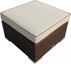 wicker storage ottoman wicker ottomans u0026 footstools u2013 home
