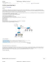 ccna training ccna access list sim 2 cisco certifications