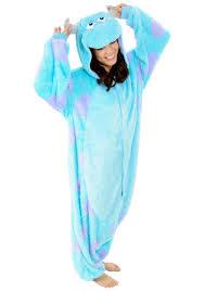 monsters inc halloween costume monster sully pajama costume pajama jumpsuits