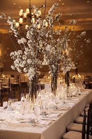 winter wedding centerpieces cherry blossom inspired winter weddings mon cheri bridals