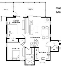 Tiny Guest House Delighful Guest House Floor Plans Plan By Westhomeplannerscom