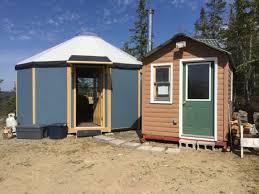 tiny houses minnesota evenson s freedom yurt cabin in minnesota tiny house blog