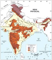 physiography of india geography study material u0026 notes