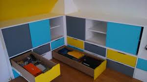 rangement chambre d enfant rangement mansardee charmant meubles chambre diy cher theme ravizh