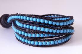 bracelet wrap diy images Tutorial chan luu turquoise wrap bracelet buatkalunggelang jpg