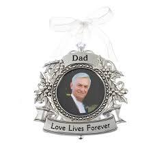 in loving memory ornaments dad in loving memory christmas ornament