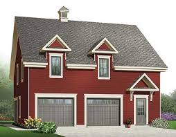 Two Story Workshop 3 Car Garage With Storage 21691dr Architectural Designs