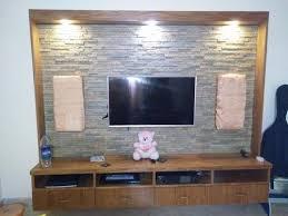 Slate Cladding For Interior Walls Tv Unit Stone Cladding Domlur Bengaluru S S Rajeshwari