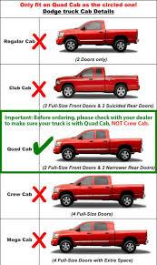 Used Dodge Dakota Truck Parts - tyger custom fit 05 11 dodge dakota quad cab black 3