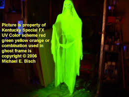 halloween ghost decoration hanging prop yellow lady floating flying