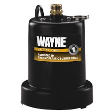 wayne tsc130 1 4 hp reinforced submersible thermoplastic water