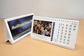 chevalet de bureau personnalisé calendrier chevalet imprimeboutique
