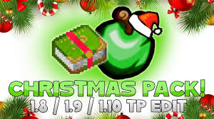 acidic blitzz christmas holiday texture pack 1 8 resource pack
