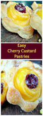 cherry custard pastries lovefoodies