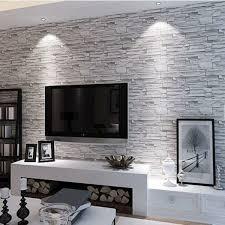 deco papier peint chambre adulte decoration idee deco papier peint papier peint imitation briques