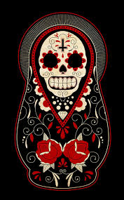 day of the dead russian dolls by paulorocker on deviantart