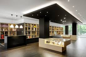 shop design wine store design in portugal stylishly exhibiting a thousand