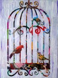 bird wall art print bird cage decor bird artwork bohemian decor