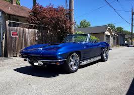 1964 stingray corvette convertible 1964 corvette stingray convertible restomod frame restoration