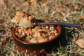 cuisine chataigne recette de crumble d automne poires et châtaignes la recette facile