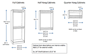 what height to hang cabinets closets woodtrac by sauder