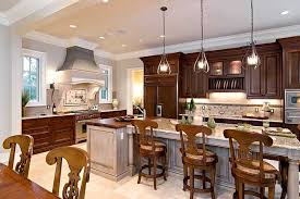 Hanging Kitchen Lights with Amazing Classic Kitchen Lighting Design Wooden Chairs Hanging