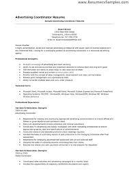 Activities Coordinator Resume Planner Resume Sle 28 Images Billing Coordinator Resume Sales