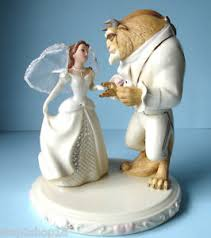 beauty and the beast cake topper lenox disney s wedding dreams cake topper figurine beauty