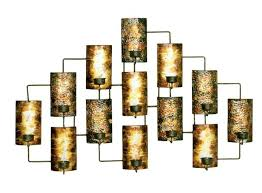 Wrought Iron Candle Wall Sconces Candle Wall Decor Eldesignr Com