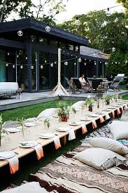 Backyard Parties Best 25 Outdoor Dinner Parties Ideas On Pinterest Dinner