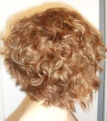 graduated bob for permed hair layered graduated bob on curly hair warm medium blonde with