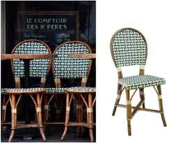 Rattan Bistro Chairs Commercial And Residential French Café Bistro Chairs Made In