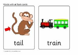 words with ai phonics activities and printable teaching