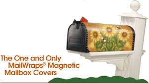 curb decor mailwraps magnetic mailbox covers
