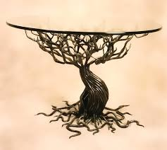 tree branch coffee table