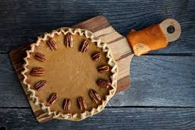 a thanksgiving dessert twist black bottom maple pumpkin pie