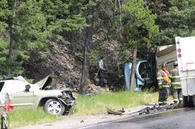 head on collision results in lone mountain trail fatality