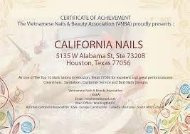 nail salon houston nail salon 77056 california nails