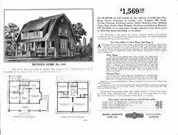 Floor Plans For 2 Story Homes by Sears Homes 1908 1914
